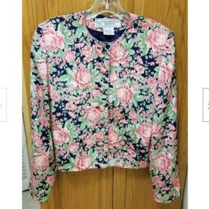 Evan Picone Ladies Beautiful Floral Blouse
